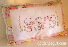 Gold Shoe Girl: Cutest Pillow Ever