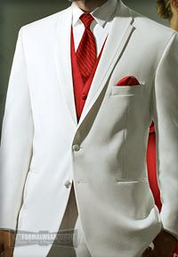 Since freshman year, I've been looking forward to Senior Prom just because I finally get to wear the white tuxedo.