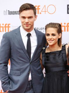 Kristen Stewart and Nicholas Hoult look beyond dreamy at Toronto film festival   - Sugarscape.com