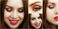 Makeup using Cougar cosmetics :) red lips http://drewsbeauty.blogspot.sk/2016/04/licenie-s-jednou-znackou-cougar_19.html
