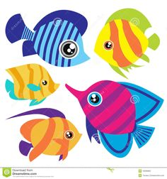 cartoon fish - Google Search