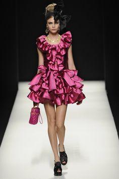 Moschino Runway Fall 2012 | POPSUGAR Fashion