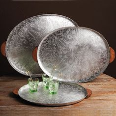 Andalusia Oval Trays