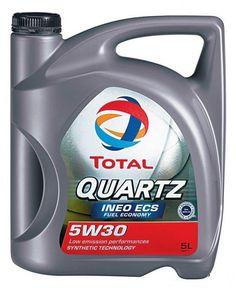 TOTAL QUARTZ INEO ECS 5W-30 es un lubricantes especial ahorro de carburante de segunda generación: es apto para los motores diesel, de antigua como nueva generación. Además es apto en la mayoria de los motores de gasolina. TOTAL QUARTZ INEO ECS 5W-30 es esencial para el buen funcionamiento del FAP, así como para los otros sistemas de postratamiento. QUARTZ INEO ECS 5W-30 cumple los ciclos de mantenimiento más severos y las condiciones de utilización las más difíciles en cualquier estación…