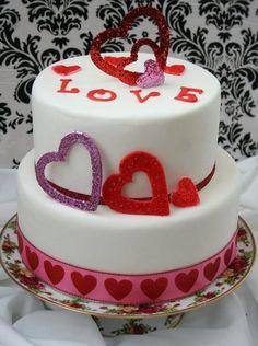 1/28.....Valentine cake