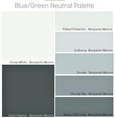 Azules y neutros