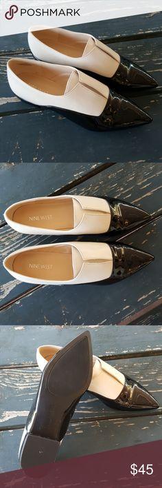 Nine West Women's Treasure Leather Flats sz. 7.5 Nine West Women's Treasure Leather Flats sz. 7.5 Nine West Shoes Flats & Loafers