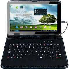 $49.99 - 9 inch #Google #Android 4.0 #Tablet PC 8GB Wi-Fi Front Camera +Keyboard Bundle