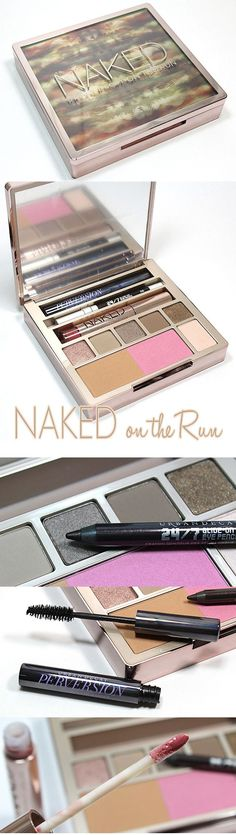 The ultimate portable palette for us NAKED loving makeup girls: Urban Decay Naked on the Run palette. #NakedontheRun