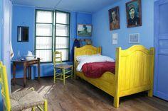figarofr: La chambre reproduite à partir de l'œuvre de Van Gogh.