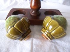 Vintage Artichoke Salt and Peppers shakers in by mimishomefashions, $14.95