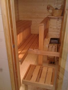 Many apartments in Finland have saunas too, no matter how small :)