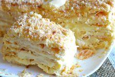 Идеальный торт «Наполеон» по-домашнему