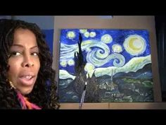 DIONIS Multimedia Artist Recreates Starry Night and shows YOU How! - YouTube