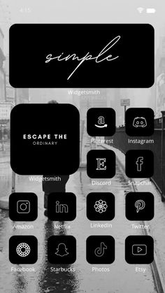 Discord, Snapchat, Netflix, Simple, Icon Pack, App Icon, Instagram, Etsy, Icons