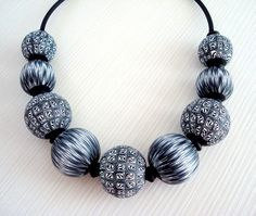 Polymer clay hollow beads | Flickr - Photo Sharing!