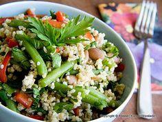 Bulgur-Bohnen Salat
