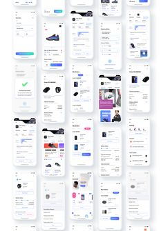 Ui Design, Free Design, Ios Ui, Ui Kit, Ecommerce, Pure Products, Things To Sell, Illustration Art, Colour