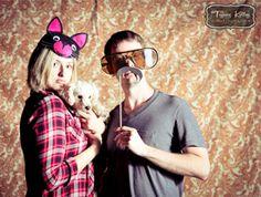 DIY Wedding Photobooth Props