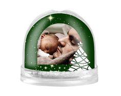 Palla di Neve Green Christmas