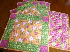Quilted Placemats 1/2013