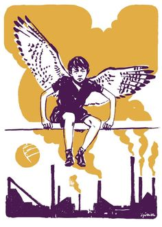 KES (1969) Art Print by Michael Gillette