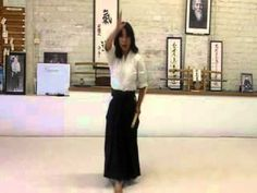 ▶ Aikido Girl Morote Dori Advanced Ginny Breeland - YouTube