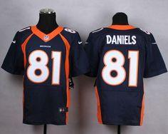 Nike Broncos 13 Trevor Siemian White Platinum Elite Jersey | NFL ...