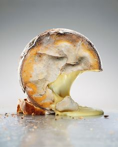 A striking bark-wrapped oozer of a cheese from Swedish photographer Bengt O. Pettersson. Check out his portfolio of Food (and other) photogr...