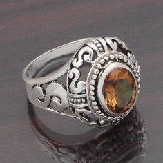 925 SOLID STERLING SILVER FANCY DESIGNER ALEXANDRITE RING 6.69g DJR4672 #Handmade #Ring