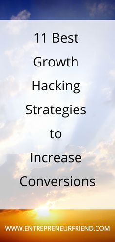 11 Best Growth Hacking Strategies: To Increase Conversions & ROI Online Marketing Tools, Internet Marketing, Network Marketing Tips, Marketing Channel, Successful Online Businesses, Growth Hacking, Business Advice, Entrepreneur Quotes, Self Development