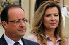 Confirmado. Presidente Hollande rompe con Valerie Trierweiler