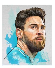 Cristiano Ronaldo, Antoine Griezmann and Lionel Messi the nominees for The Best FIFA Football Awards, Illustrated for RÉCORD Sport Newspaper. Messi Soccer, Soccer Memes, Soccer Quotes, Soccer Tips, Nike Soccer, Soccer Cleats, Lionel Messi Barcelona, Barcelona Soccer, Soccer Art