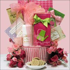 GreatArrivals Gift Baskets Bathtime Bliss Birthday Spa Gift Basket (SPS_B-902)