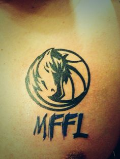 Dallas Mavericks Tattoo