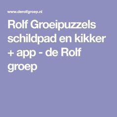 Rolf Groeipuzzels schildpad en kikker + app - de Rolf groep