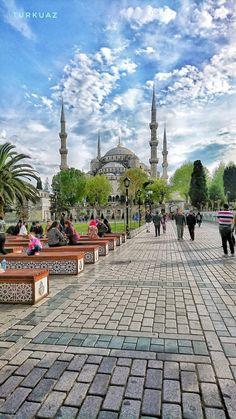 Sultan Ahmed © Vatan Turkuaz. (via Facebook - Photography TÜRKİYE) #turkey #türkiye #istanbul #sultanahmed #sultanahmet #mosque #camii