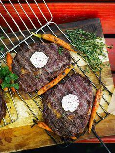 Punaviini-yrttivoi | Lisukkeet | Soppa365 Hummus, Bulgur