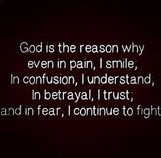 God is my only hope!!