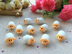 Free shipping wholesale mini resin  Little sheep /  fairy garden/moss terrarium /Micro landscape decoration/bonsai/20-100pcs >>> Read more info by clicking the link on the image. #HomeDecor