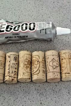 Quick and cheap DIY Christmas craft idea reusing old wine corks. Make a cute cork Christmas tree and save money this Holiday. Cute and easy Christmas craft idea for kids. Fabric Christmas Trees, Christmas Tree Crafts, Christmas Projects, Christmas Ideas, Holiday Fun, Holiday Ideas, Champagne Corks, Leather Coasters, Budget Home Decorating