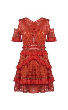 cf8c0cc5e17 Flamenco Cold Shoulder Dress Dress Outfits, Fashion Dresses, Jasmine Dress,  Flamenco, Feminine