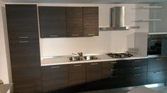 #Cucina mod. #LARIX grigio di #Essebi cucine su www.outletmobili-italia.it
