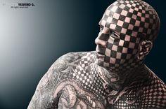 """""""Hombre Tablero de Ajedrez""""  Expo Tatto 2013 by yesserd gonzález on 500px"""