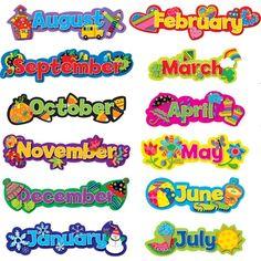 El calendario: enero, febrero, marzo,abril,mayo…