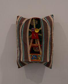 Fabric Pillow - Pillows 1962-63 by Stephen Antonakos - Nalata Nalata