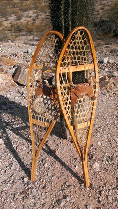 Vintage Snowshoes Perfect for Decorating or by TiesofMyFather, $49.00