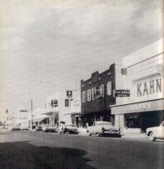 Downtown Belle Glade as it was in the Would not recognize it today. Christmas Tree Napkins, South Florida, Historical Photos, Fresh Water, Past, Restaurants, Nostalgia, This Is Us, Hotels