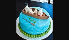 Moomin cake
