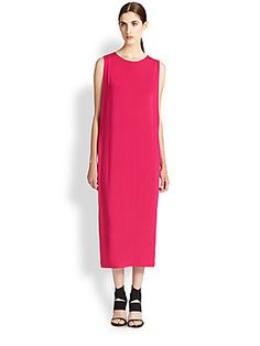 Helmut Lang Faint Stretch-Jersey Sheath Dress